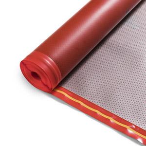 Heatfoil vloerverwarming houten vloer