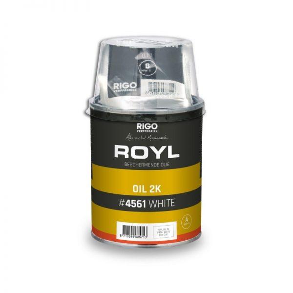 2 componenten olie Royl wit
