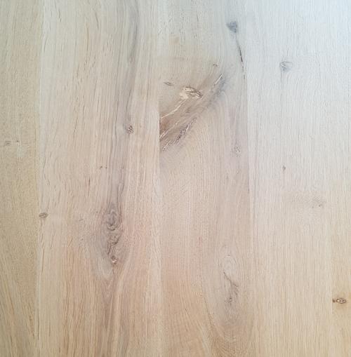 Eiken eettafel hout rustiek met noesten