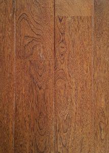 Bruine houten vloer - sucupira