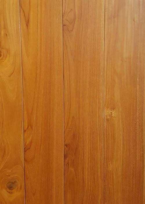 Teak houten vloer