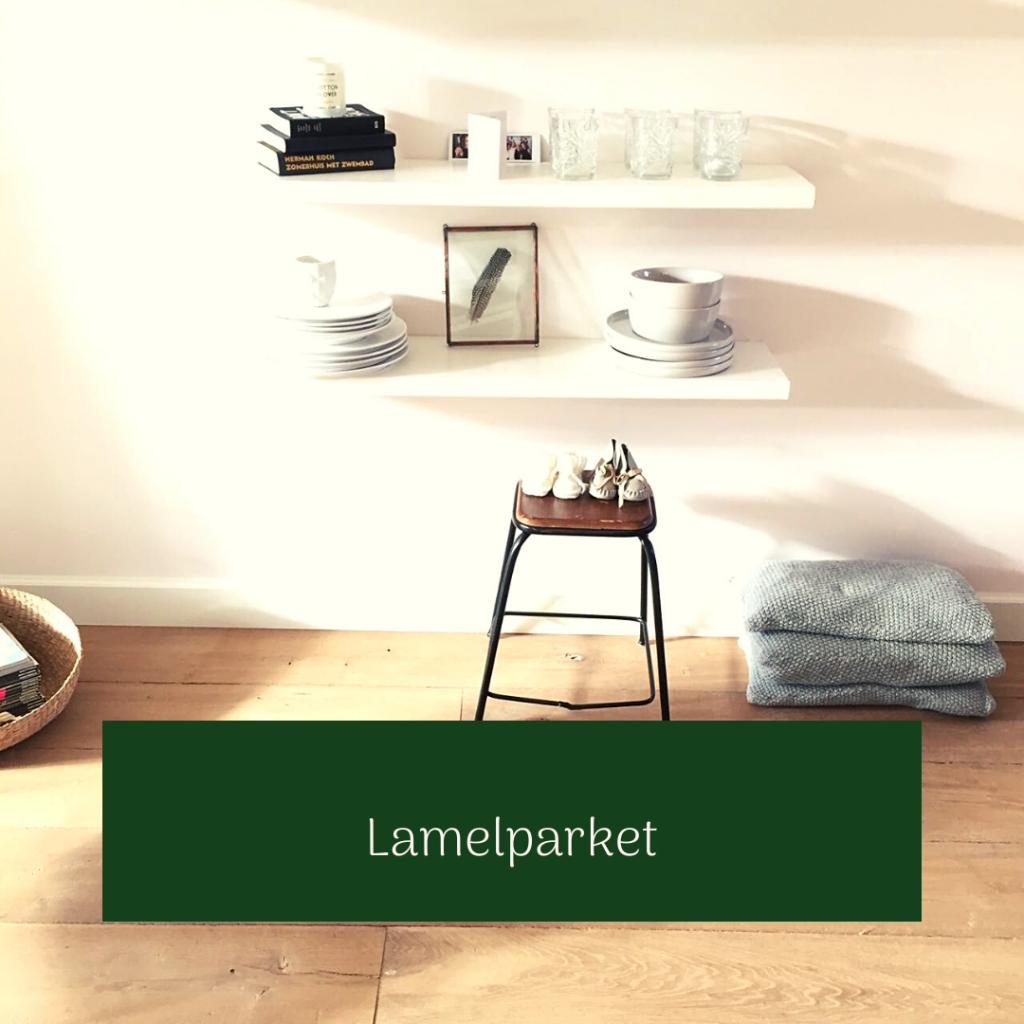 Lamelparket houten vloer