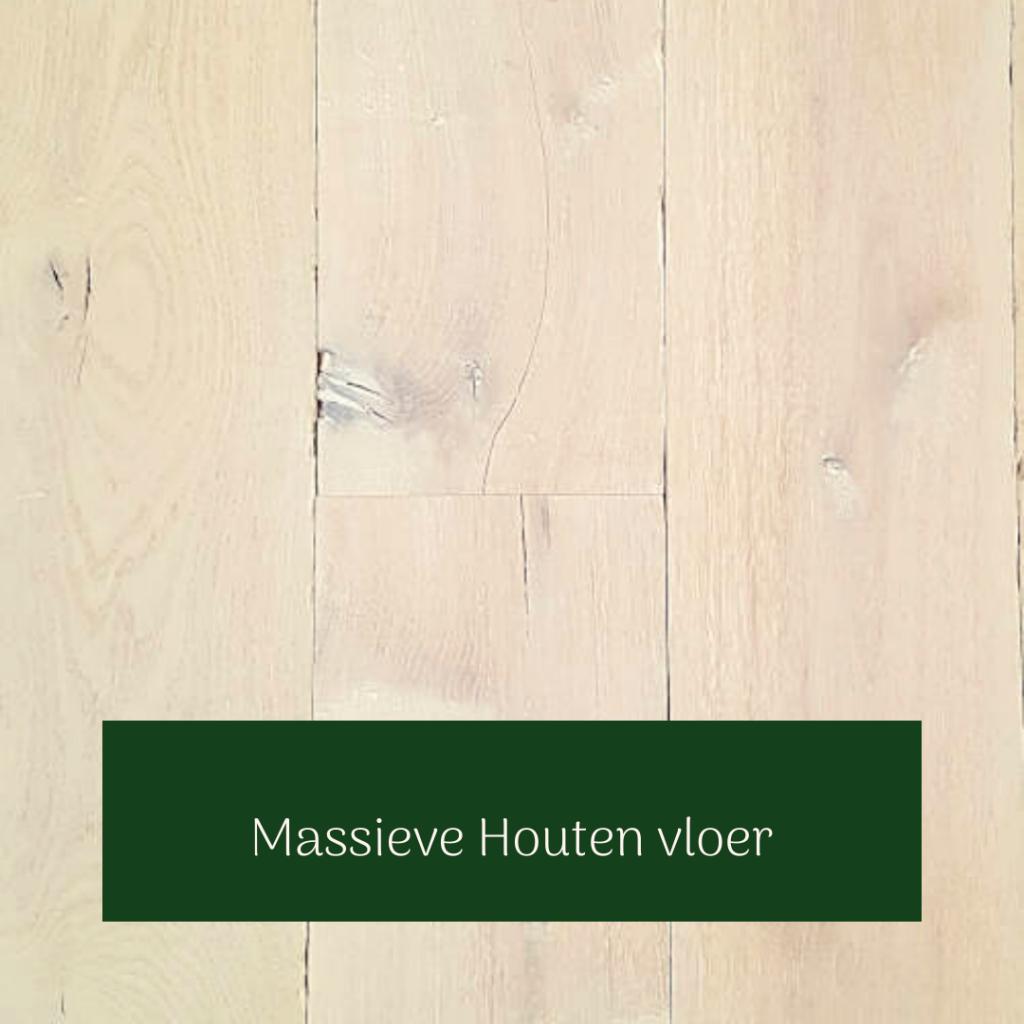 Massieve houten vloer