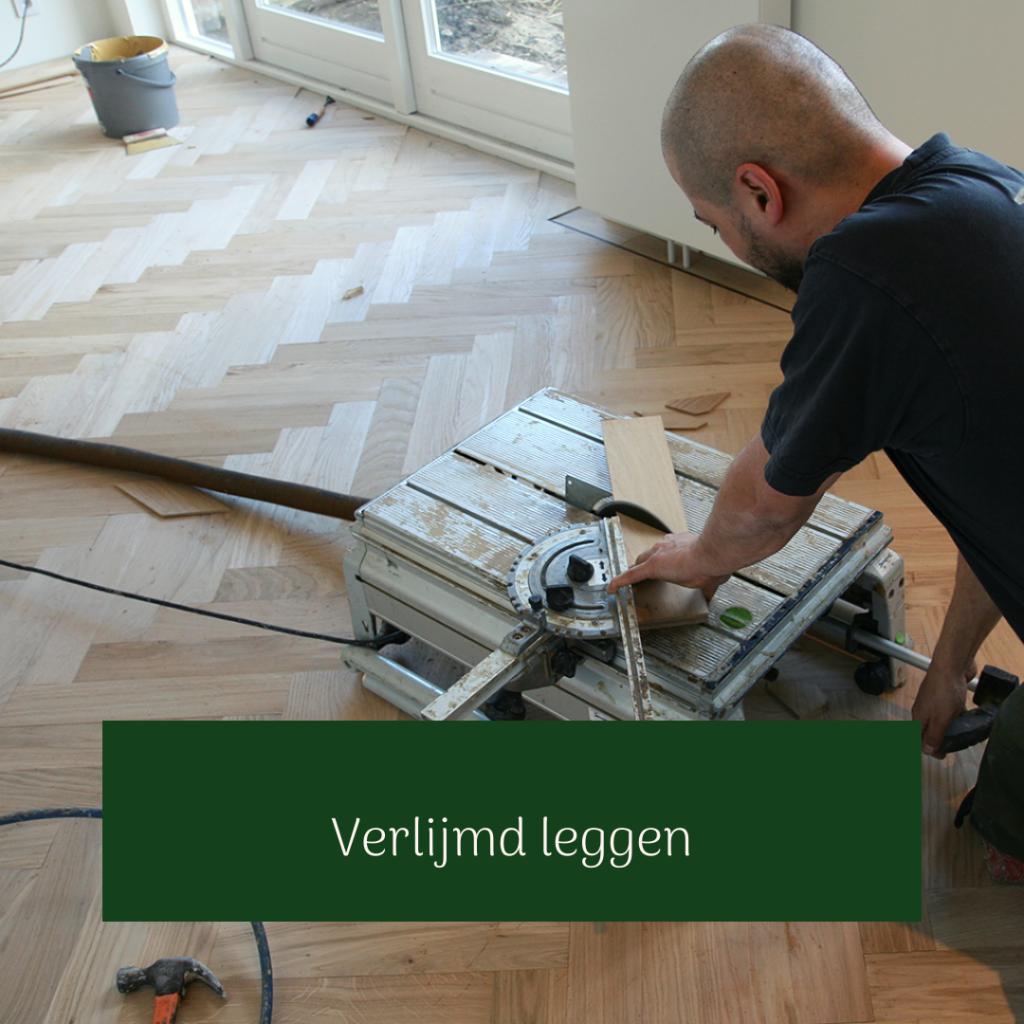 Verlijmen houten vloer