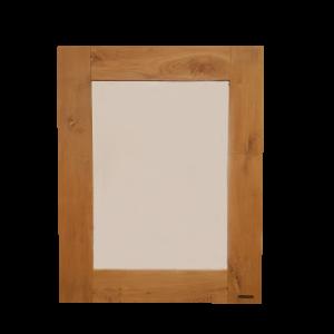 Eiken spiegel 120 x 80 cm