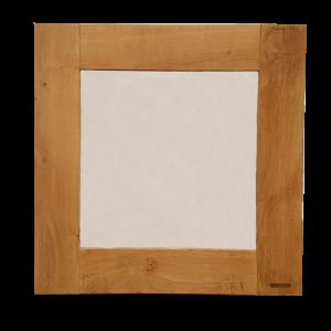 Eiken houten spiegel 80 x 80 cm