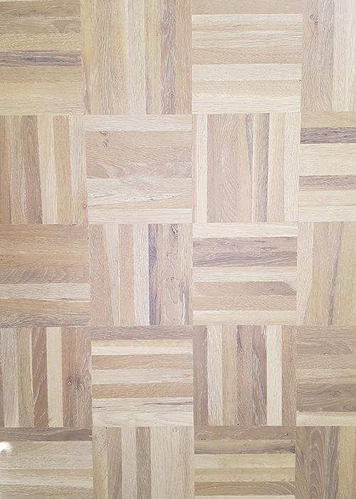 Eiken mozaiek matten