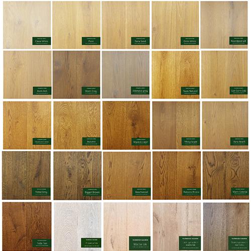 Kleuren houten vloeren eiken