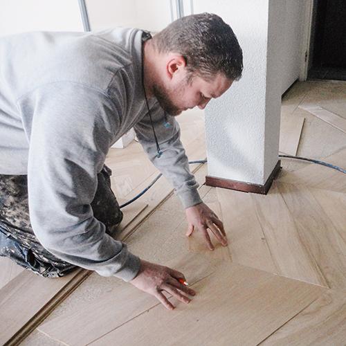 Leggen houten vloer Fairwood