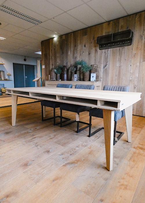 Grantham vakken tafel